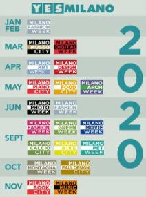 Calendario YesMilano 2020