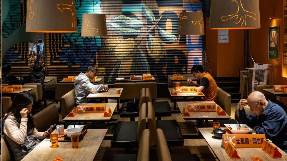 Distanziamento Sociale nei ristoranti