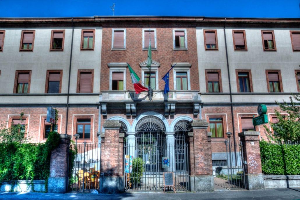 Istituto dei Martinitt - Via Pitteri nel quartiere di Lambrate