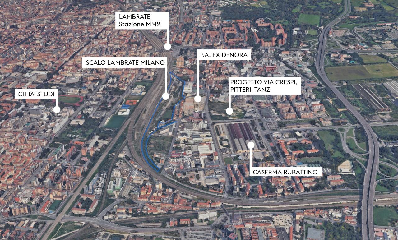 Scalo Lambrate - Dal sito FS Sistemi Urbani